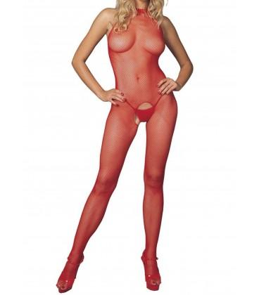 Body Collant Leg Avenue Veronica rouge