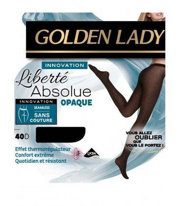 Collant Golden Lady Liberté Absolue 40D