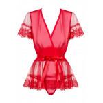 Peignoir Obsessive Rouge 870
