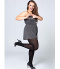 Collant grande taille Compression Coeur