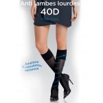 Mi bas anti-jambes lourdes