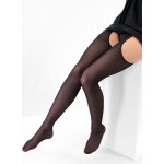 Collant Tulle ouvert