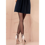 collant trasparenze sans couture claudia noir