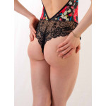 Body Bec Collection Agatha multicolore détail dos