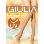 Collant giulia Sunlight anti UV 12 deniers nude