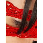 masque anastasia rouge