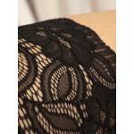 Bande de cuisse autofixante BeC collection noir détail