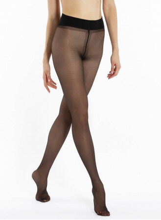 Collant transparent satine (ex perfect chic) 20D
