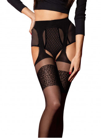 Collant ouvert Amour sauvage 20D