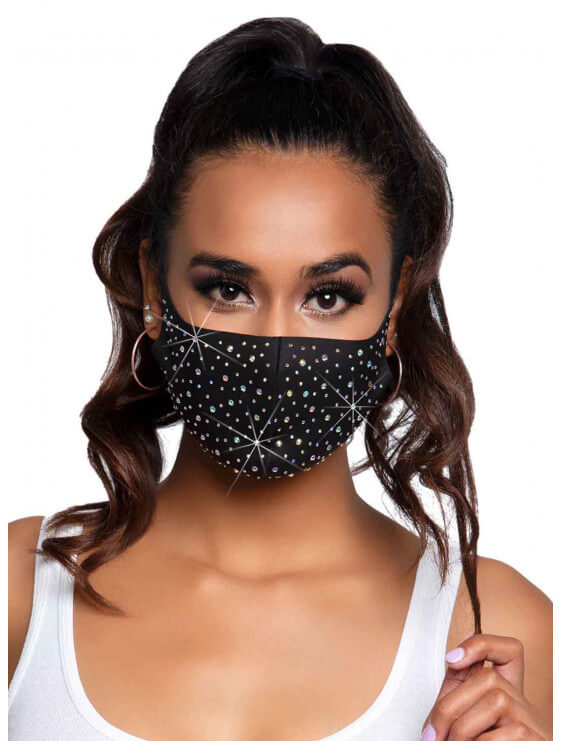 Masque lavable Naya strass