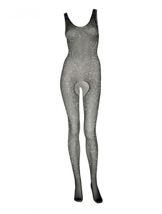 Combinaison sexy leg avenue Erika noir