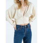 Pull blouse satiné CARO