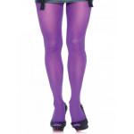 Collant leg avenue Opaque 70 deniers violet Grande Taille