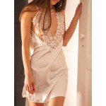 Nuisette Chitra bec collection blanc situation