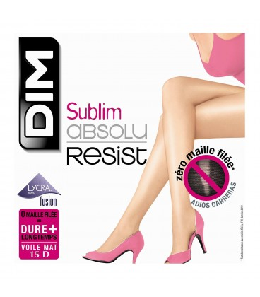 Collant DIM Sublim absolu resist 15D