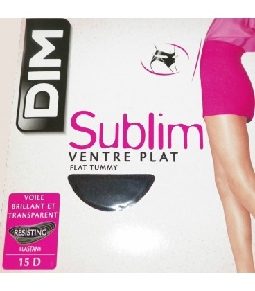 Collant Dim sublim ventre plat Noir