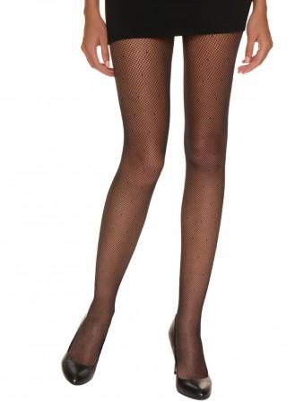 Collant Sexy Résille Plumetis 65D