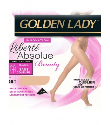 Collant Golden Lady Liberté Absolue 20D