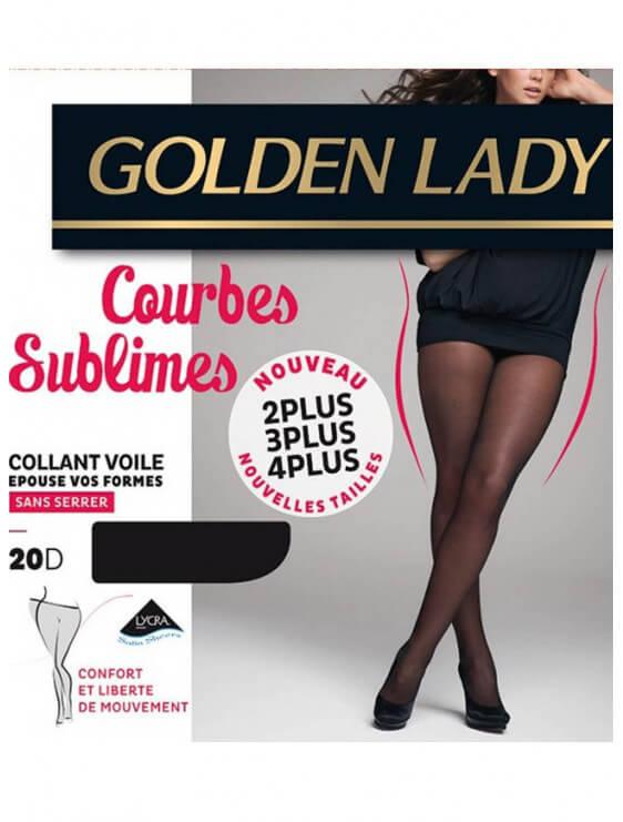 collant golden lady courbes sublimes noir