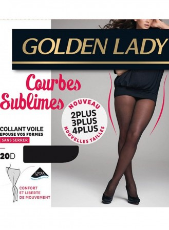 collant golden lady courbes sublimes noir