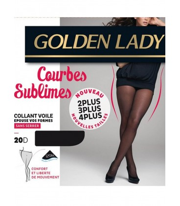 Collant Golden Lady Courbes Sublimes 20D