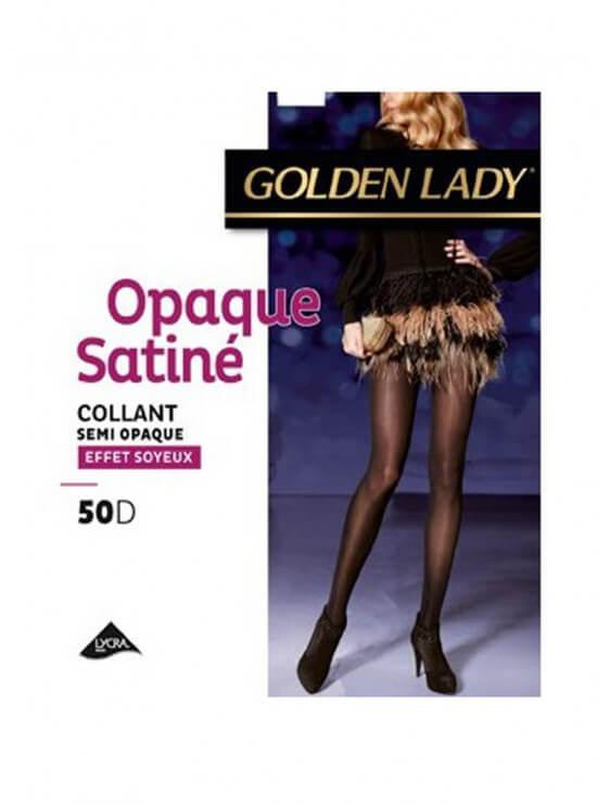 Collant Golden Semi Opaque Satiné 50D