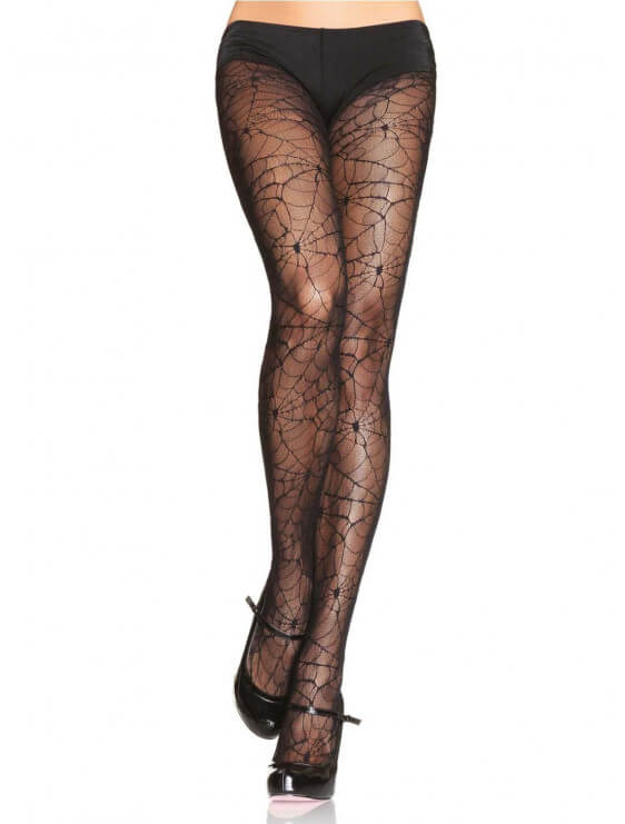 collant leg avenue spider halloween noir
