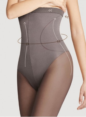 Collant gainant taille haute 40D