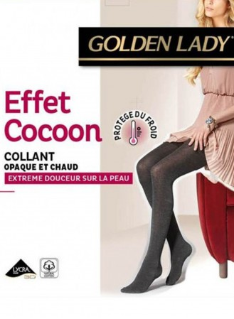 Collant Golden Lady Effet Cocoon