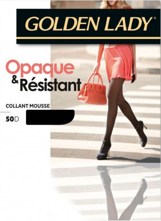 Collant mousse opaque resistant 50D