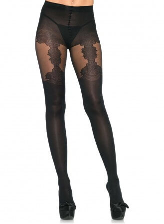 Collant Leg Avenue faux porte jarretelle