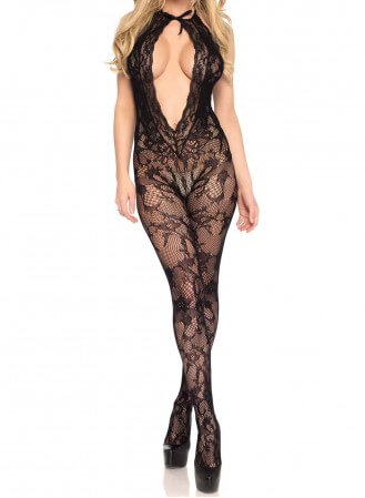 Body Collant Leg Avenue floral