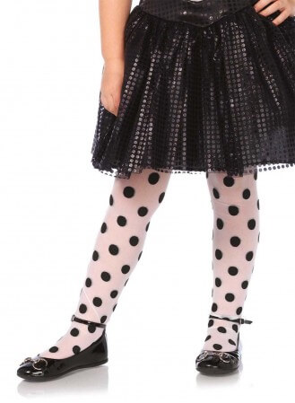 Collant Fillette Dots Leg Avenue