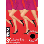 Lot de 3 collants fins DIM 20D