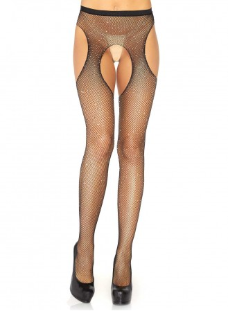 Strip Panty Leg avenue Lurex